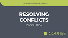 Resolving Conflicts - Industrial Edition image