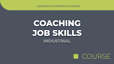 Coaching Job Skills - Industrial Edition
