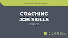Coaching Job Skills - Office Edition image
