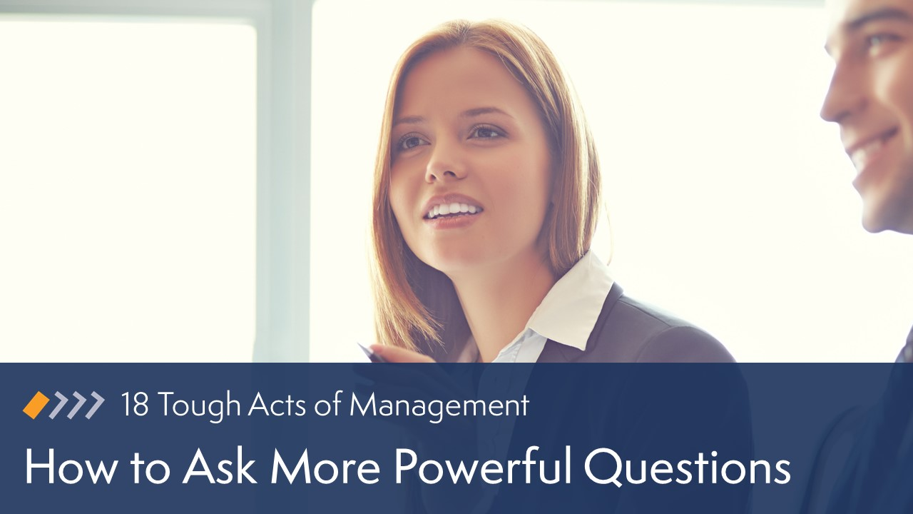 How to Ask More Powerful Questions image