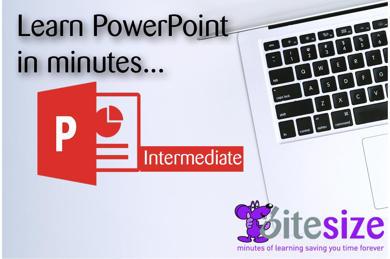 MS PowerPoint 2016 - Intermediate