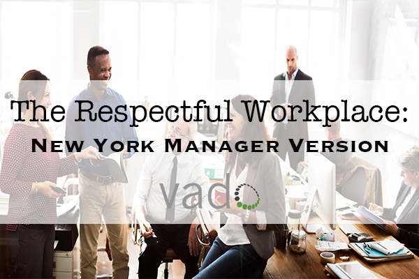 The Respectful Workplace: Manage for Respect - Coaching Conversations (New York Manager Version)