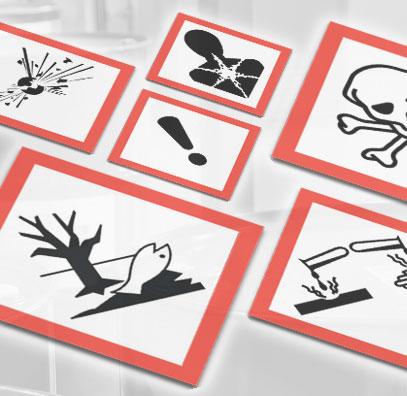 Comunicación de riesgos - Etiquetas (Hazard Communication - Labels Spanish)