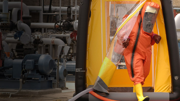Personal Protective Equipment (PPE) Part 10 - Levels of Protection and Protective Gear (US) (Spanish) Equipo de protección personal (EPP) Parte 10 - Niveles de protección y equipo protector (US)