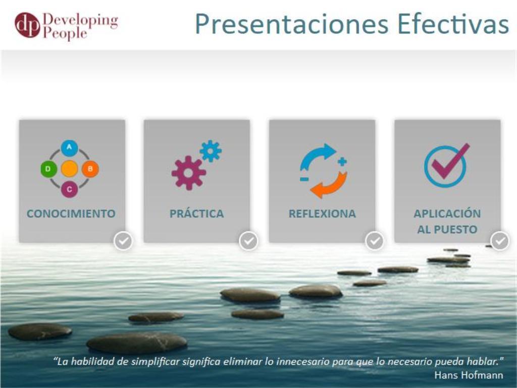 Presentaciones (Effective Presentations)