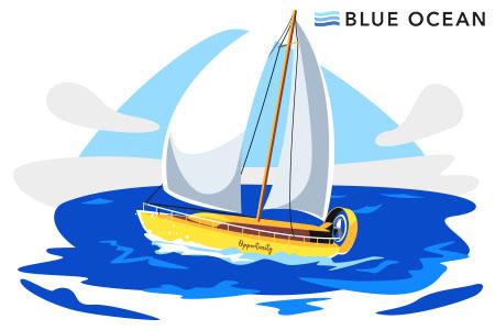 Navigating the Blue Ocean - Blue Ocean Strategy image