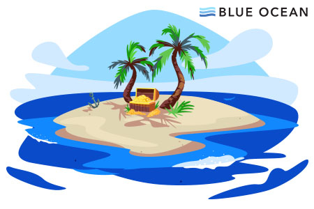 Mapping the Course to Exceptional Value - Blue Ocean Strategy image