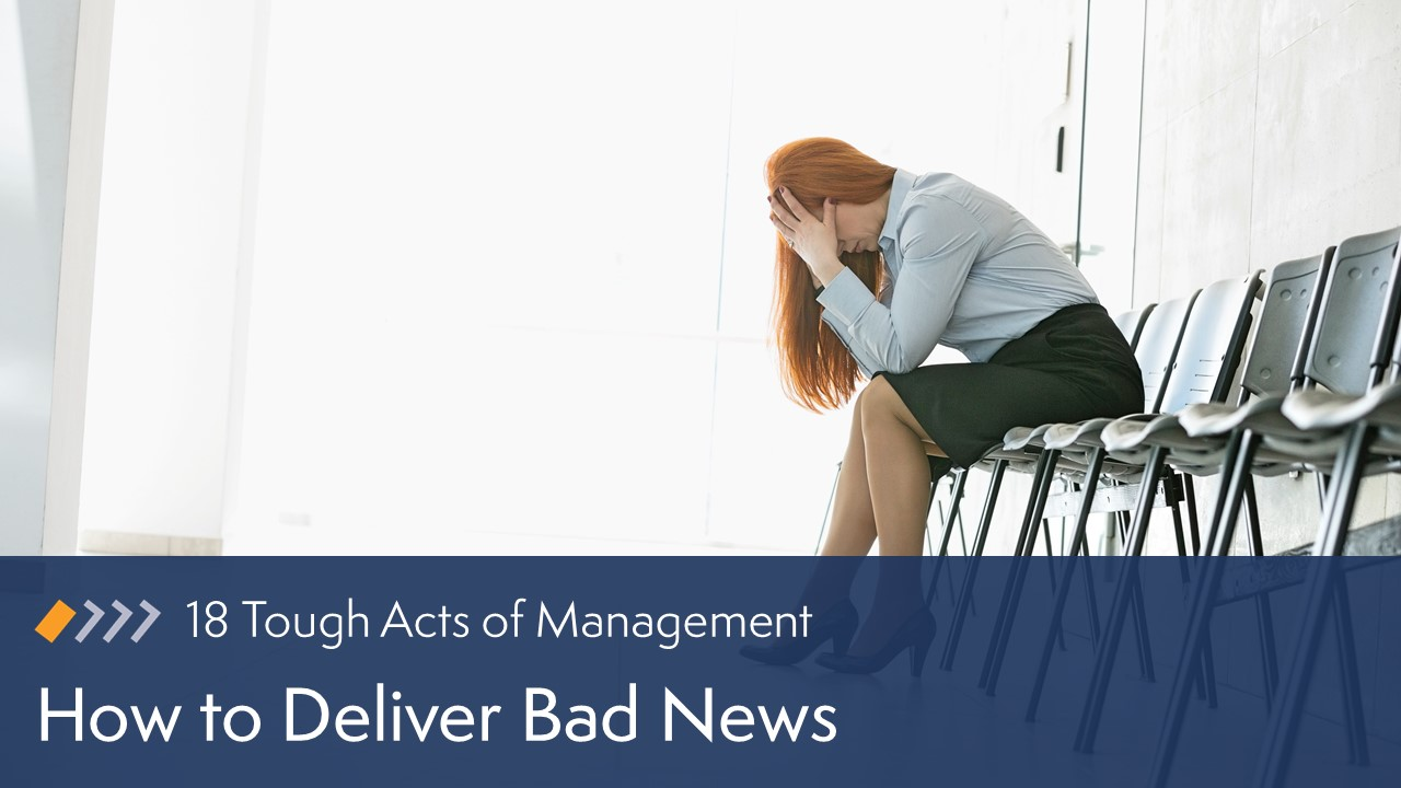 How to Deliver Bad News image