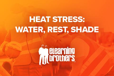 Heat Stress: Water, Rest, Shade
