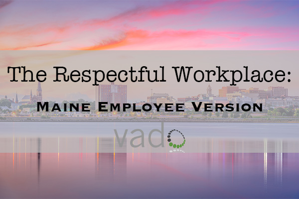 The Respectful Workplace Toolkit - Maine Employee Version image