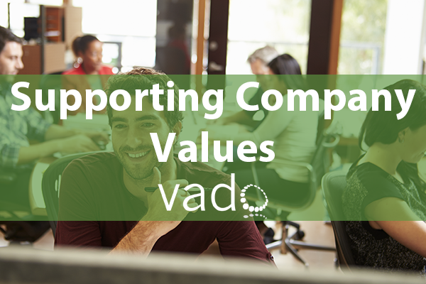 Supporting Company Values