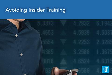 Avoiding Insider Trading