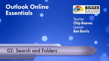 Outlook Online Essentials 2016: Search and Folders