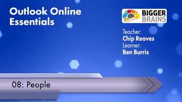 Outlook Online Essentials 2016: People