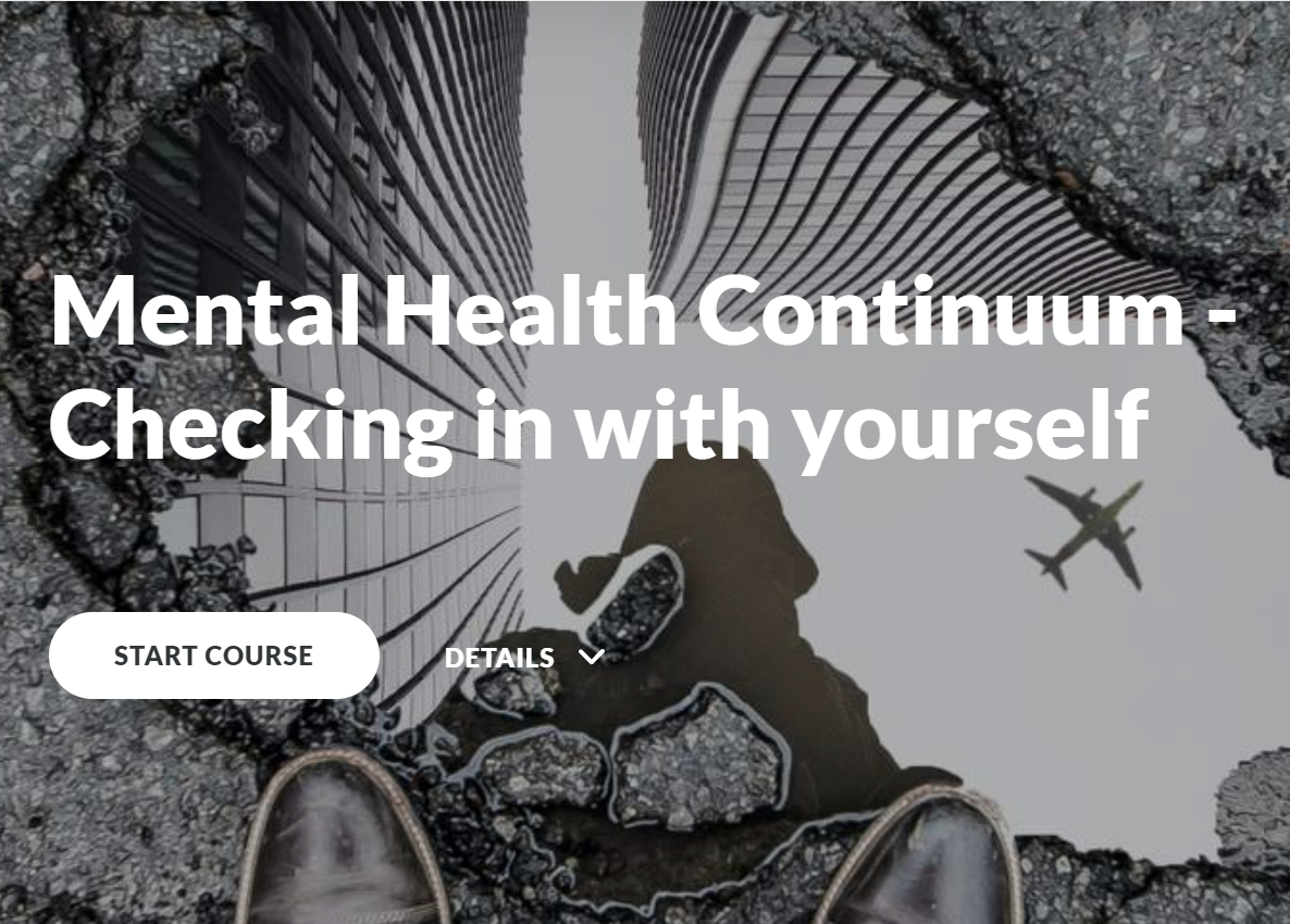 Mental Health Continuum: Checking in with yourself