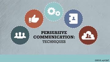 02. Persuasive Communication: Techniques