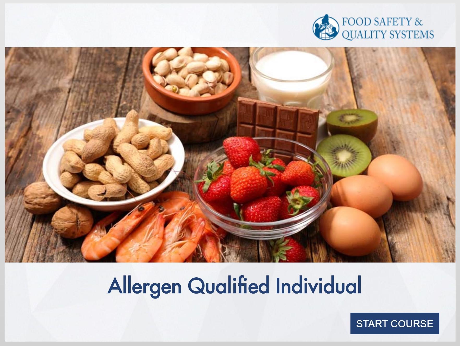 Allergen Qualified Individual