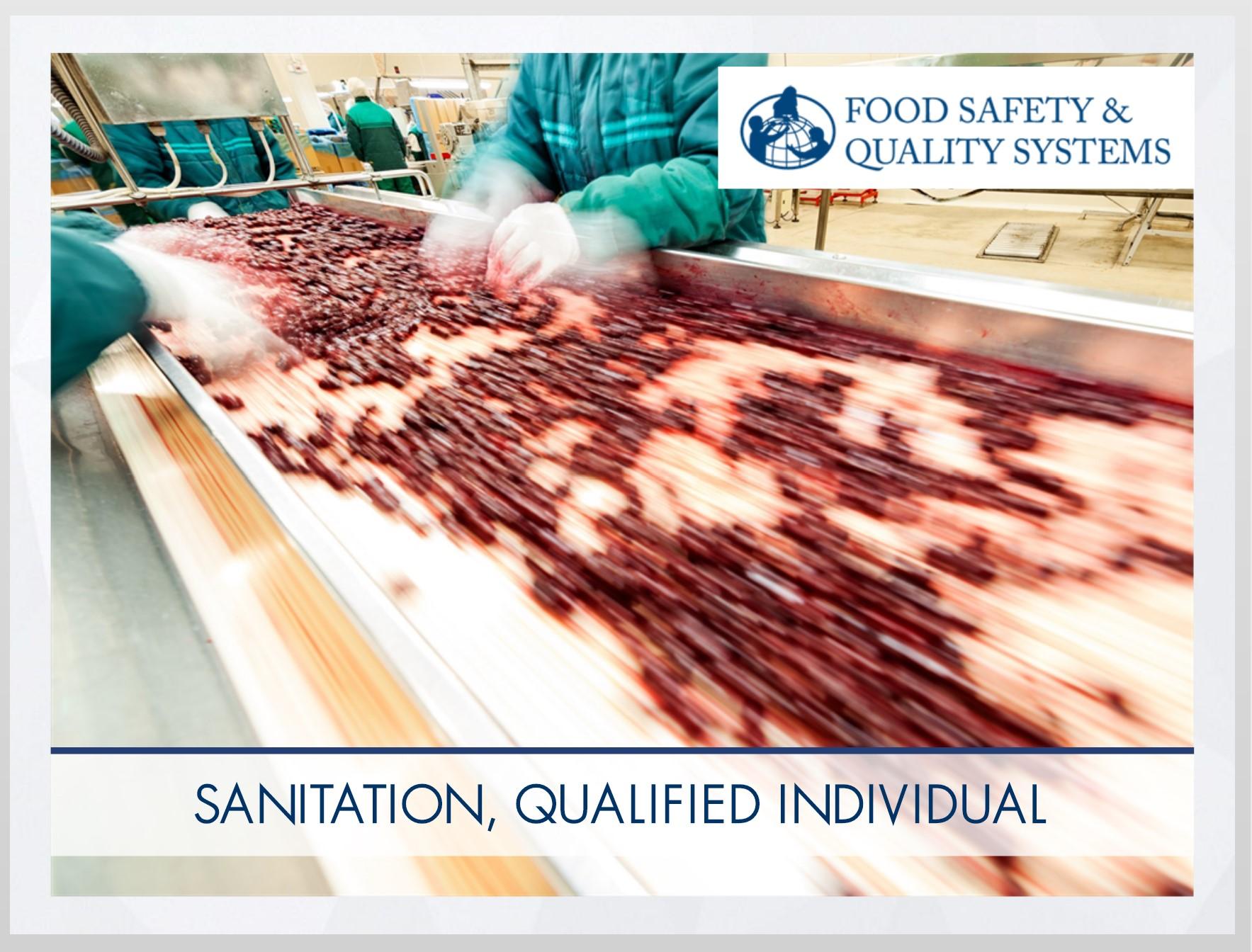 Sanitation Qualified Individual