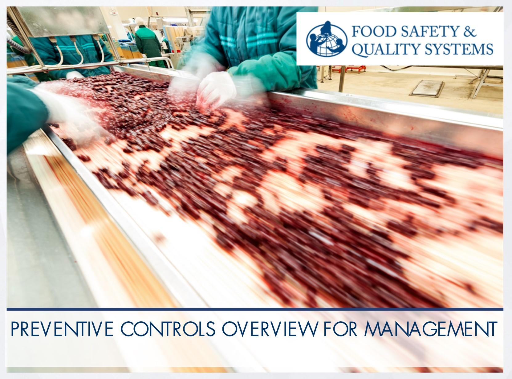 Preventative Controls Qualified Individual