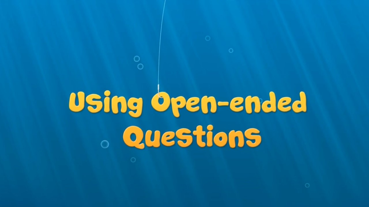 Using Open-Ended Questions