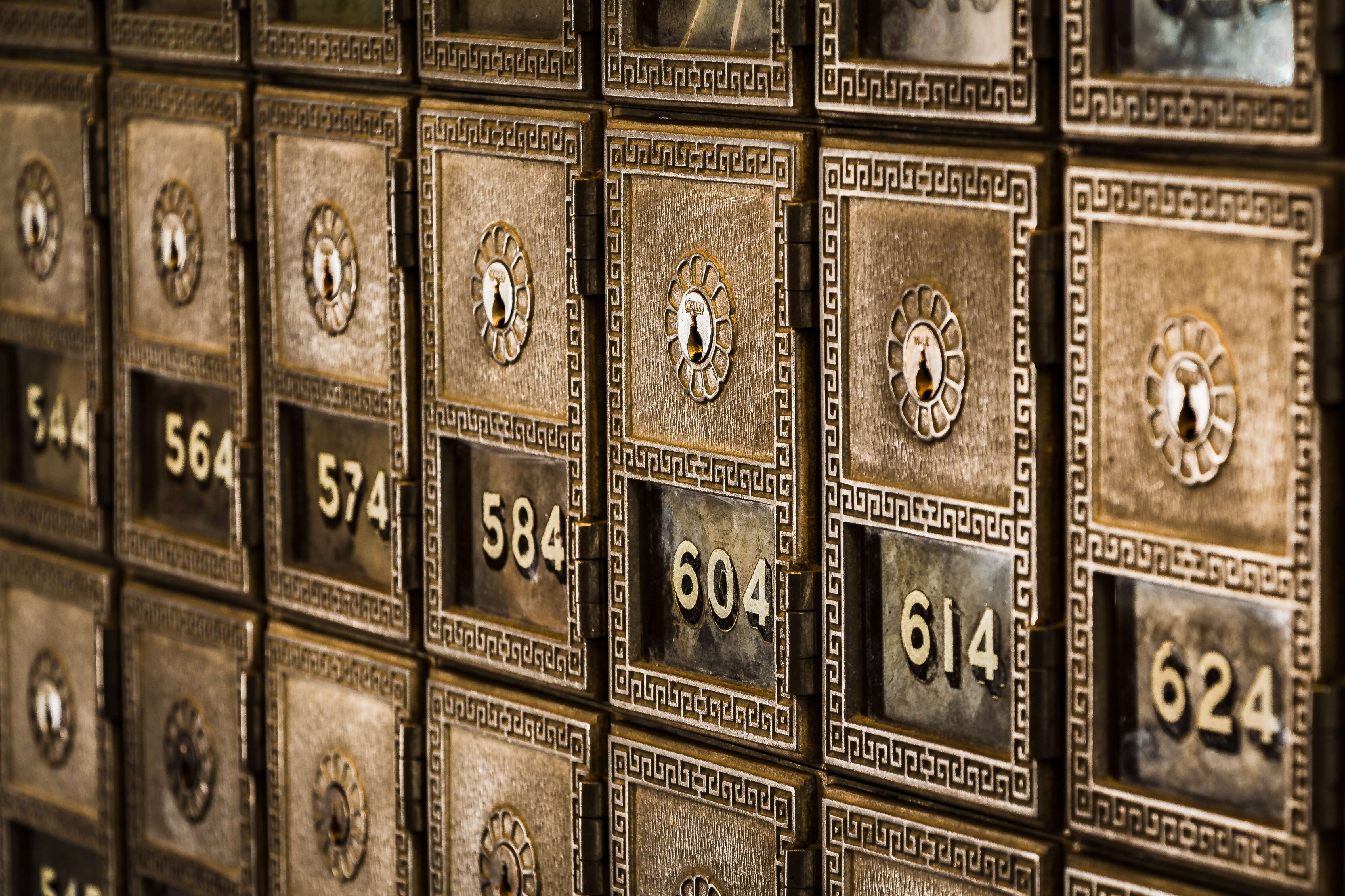 Privacy for Financial Organisations - Storage, access and correction