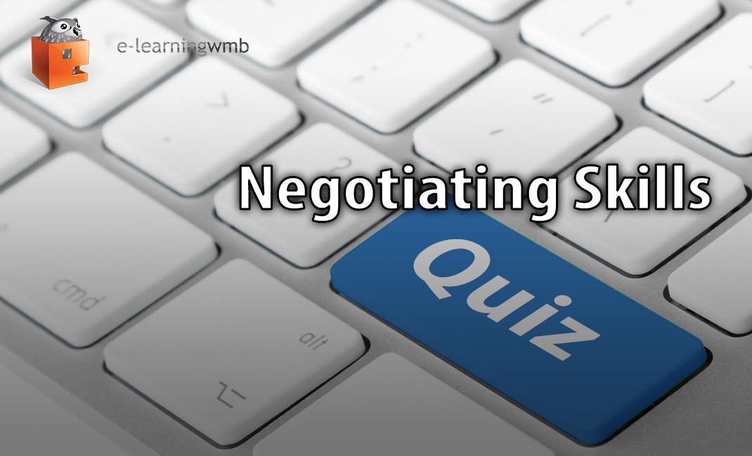 Negotiating Skills Quiz