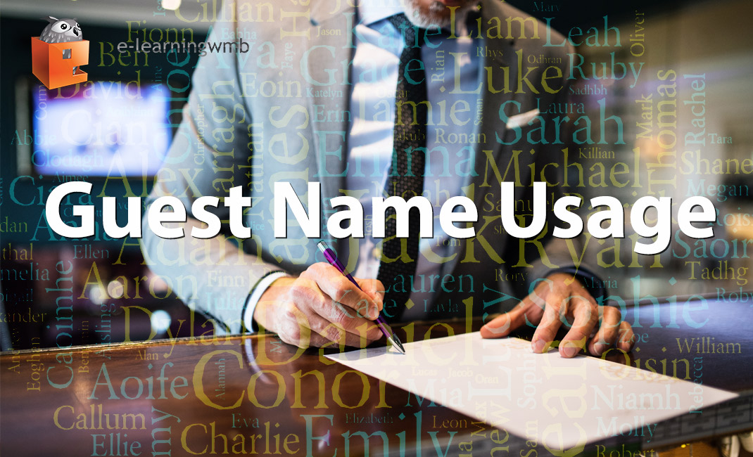 Guest Name Usage