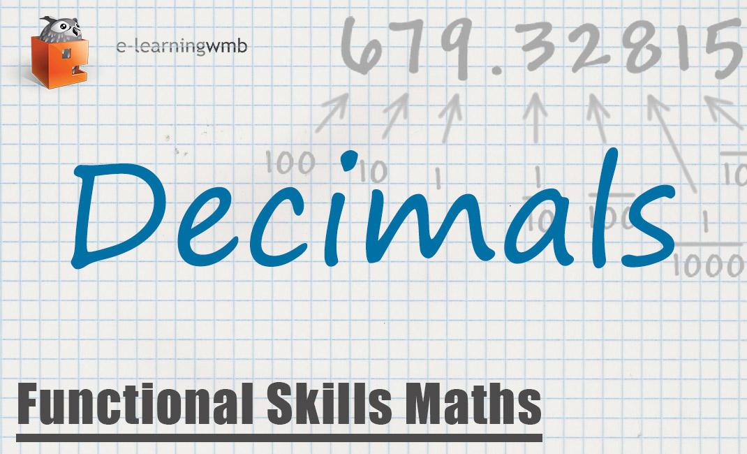 Functional Skills Maths Decimals