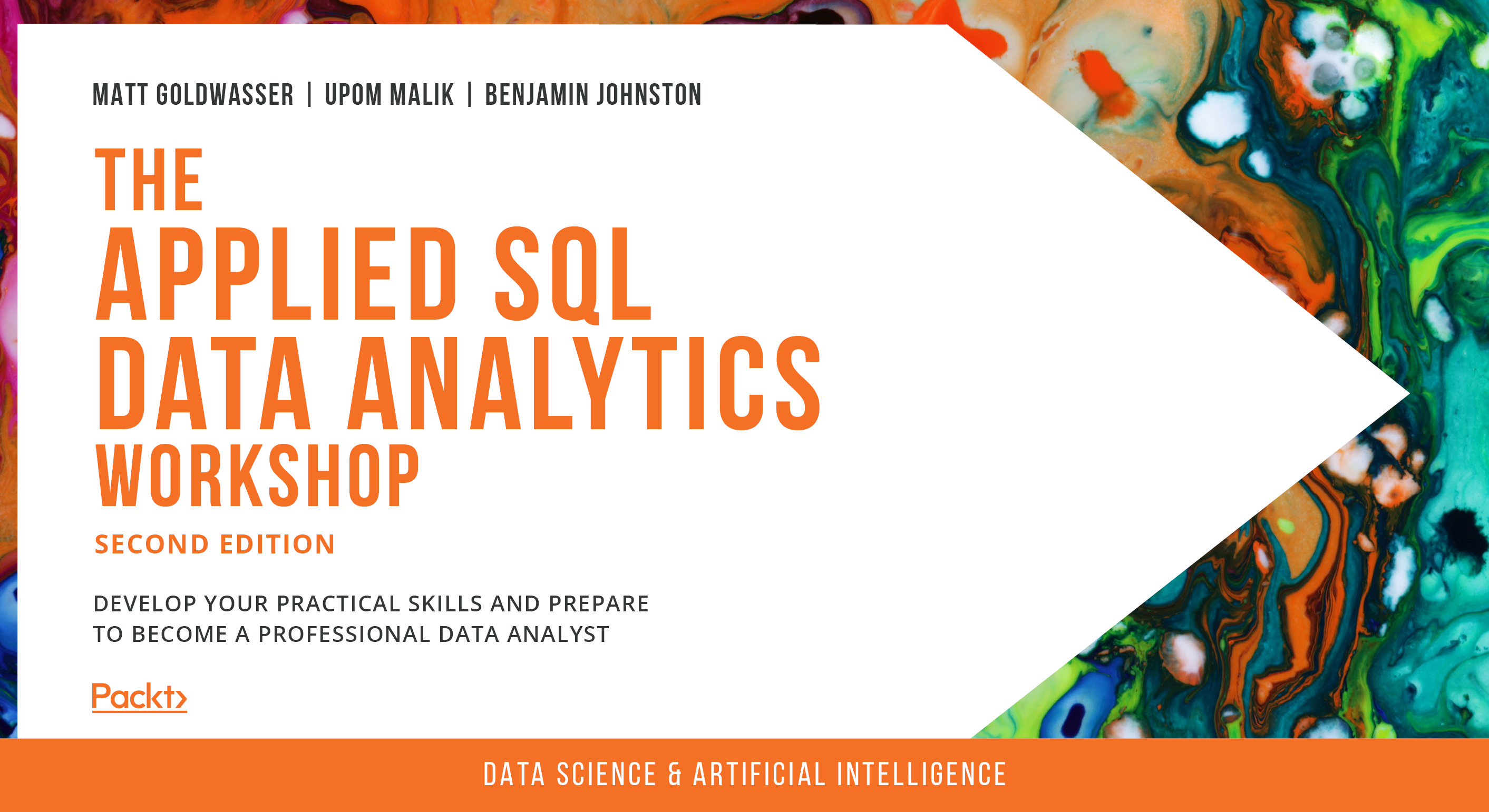 The Applied SQL Data Analytics Workshop - Second Edition