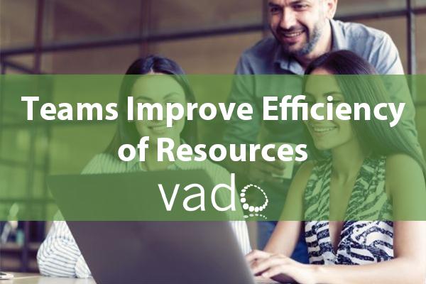 Teams Improve Efficiency of Resources