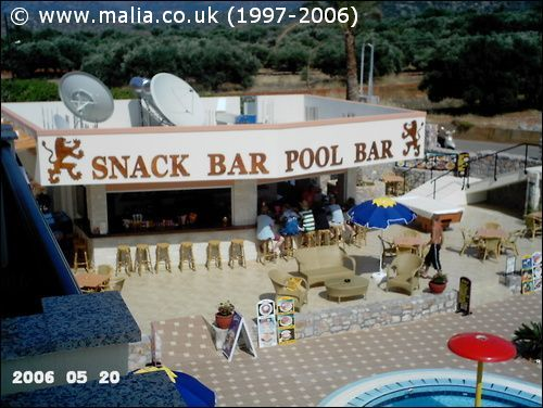 The snack bar