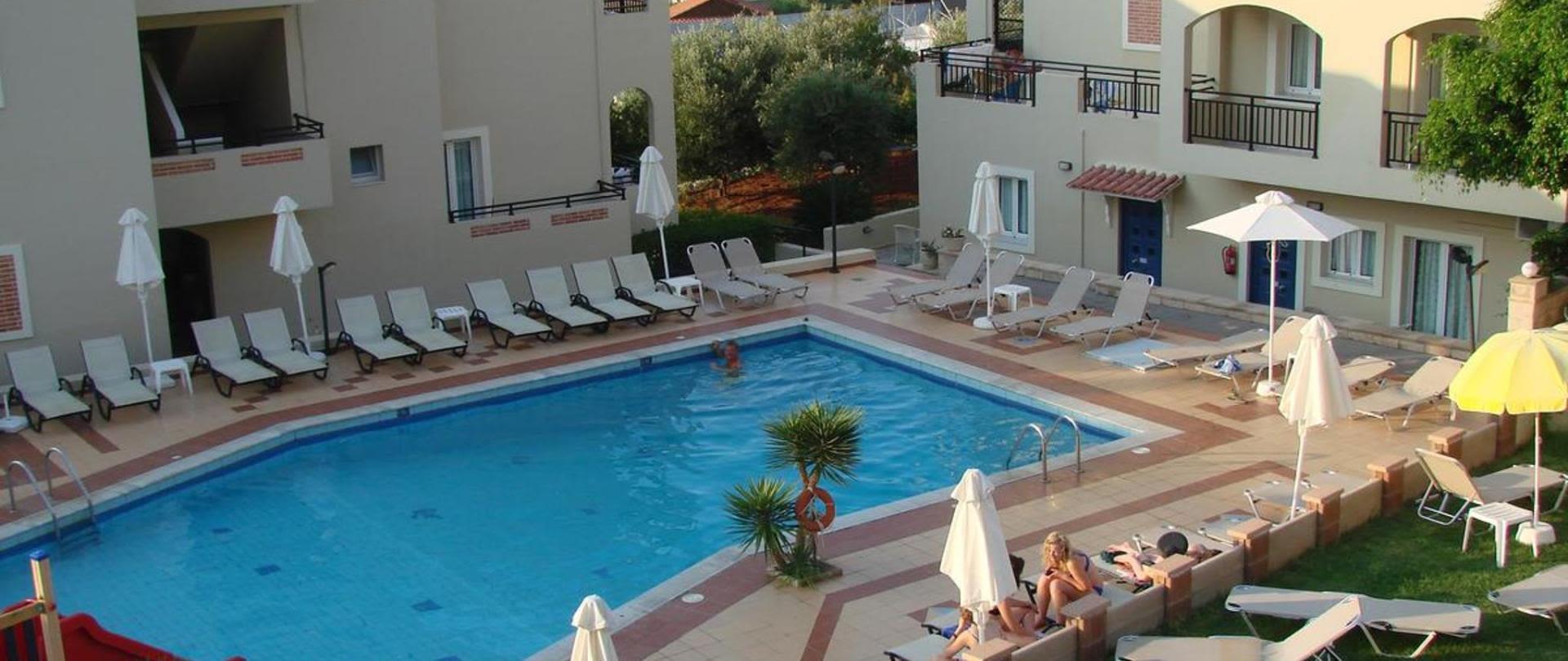 Rainbow Apartments, Stalis, Crete