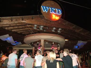 WKD Bar, Malia, Crete