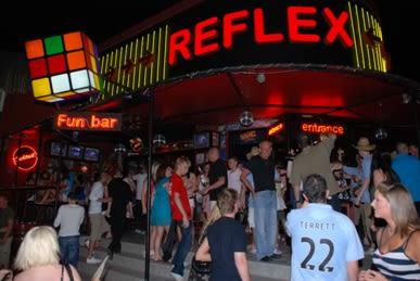 Reflex 80's Bar, Malia, Crete