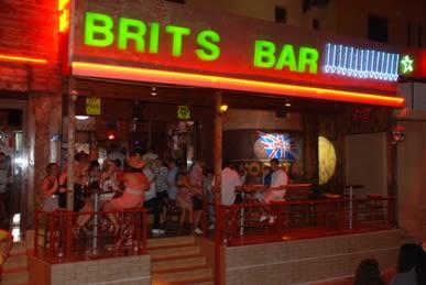 Brits Bar, Malia, Crete