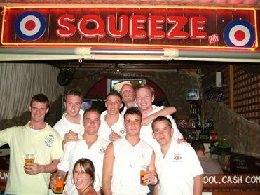 Squeeze Bar, Malia, Crete