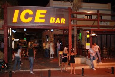 Ice Bar, Malia, Crete