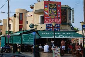 Union Jack Pub, Malia, Crete