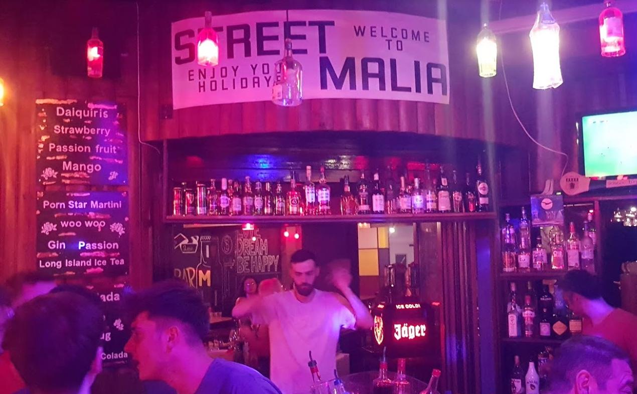 Street Pub, Malia, Crete