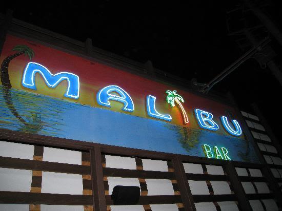 Malibu Sport Bar, Malia, Crete