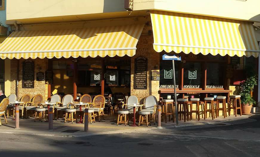 Libra Bar, Malia, Crete