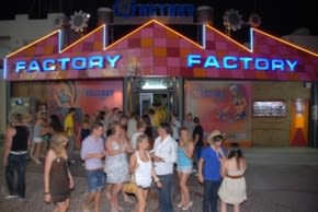 Factory Night Club, Malia, Crete