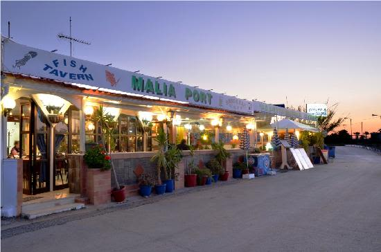 Malia Port Fish Taverna, Malia, Crete