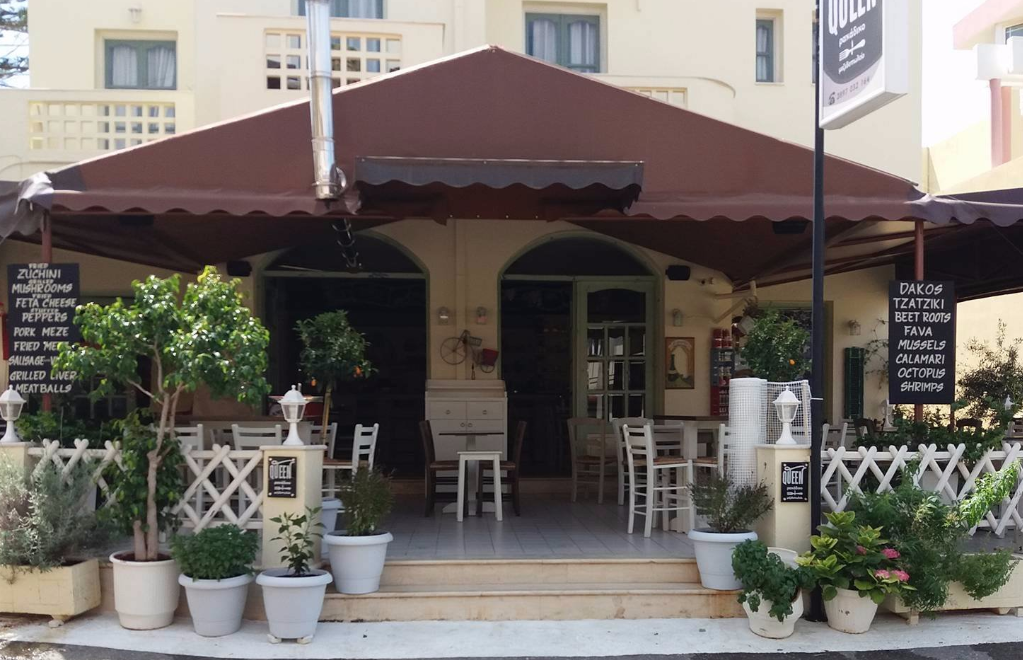 Queens Cafe, Malia, Crete