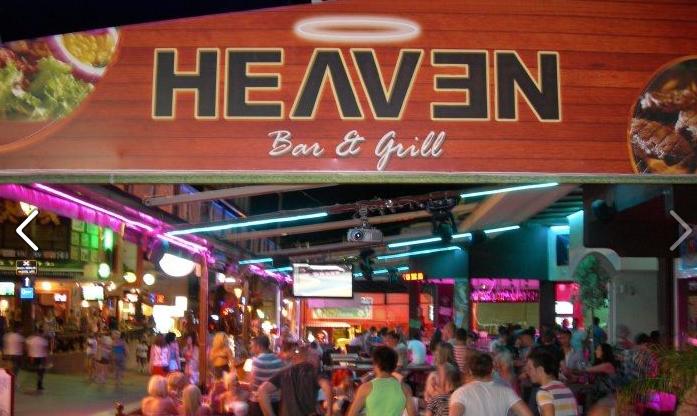Heaven Bar & Grill, Malia, Crete