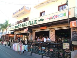 Royal Oak Restaurant, Malia, Crete