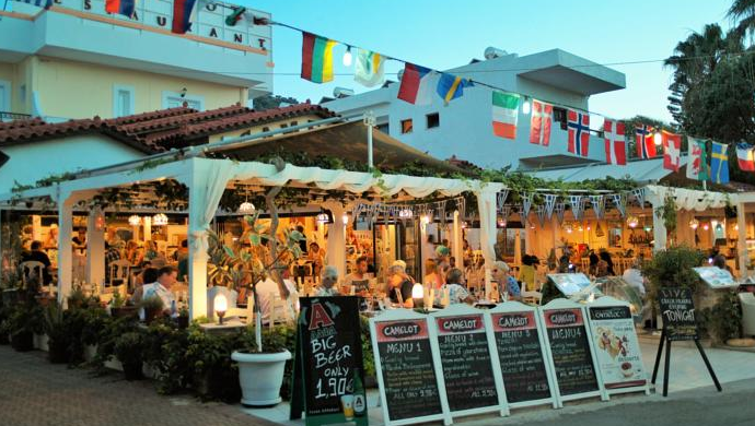 Camelot Restaurant, Malia, Crete