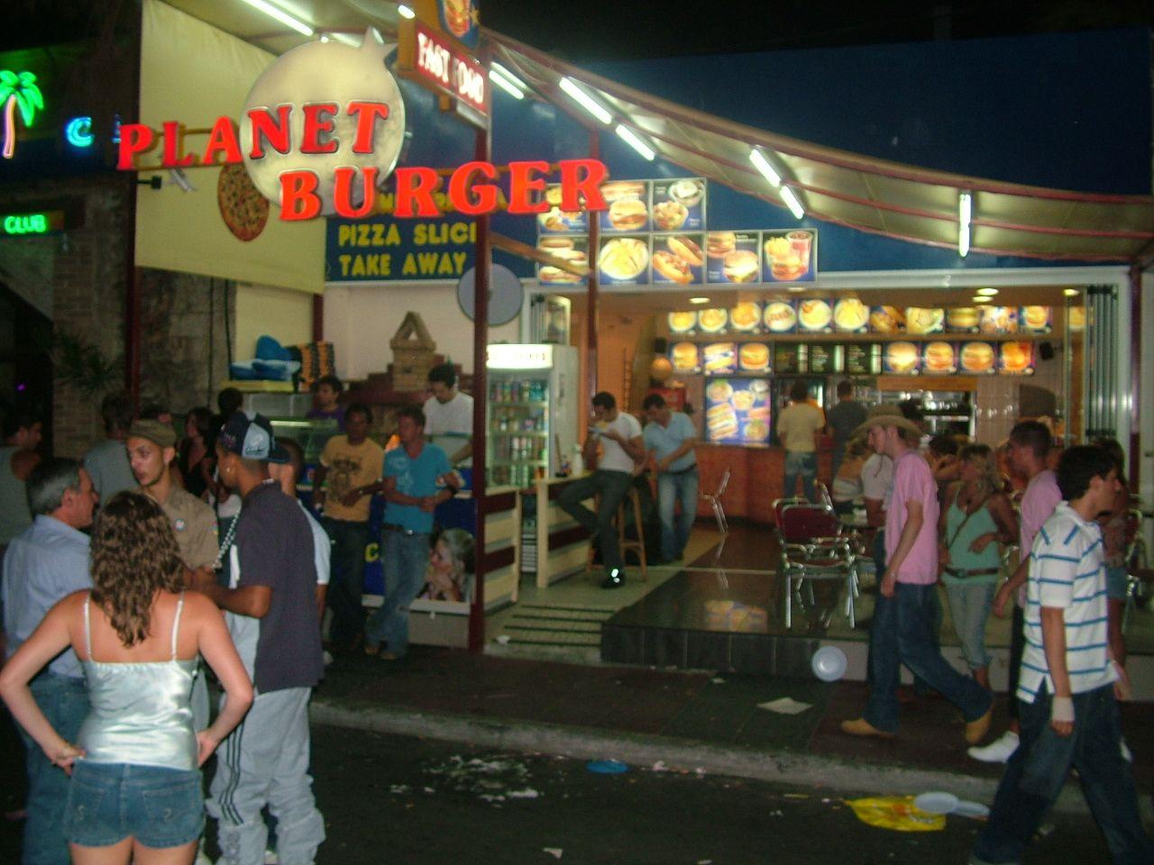 Planet Burger Fast Food,
