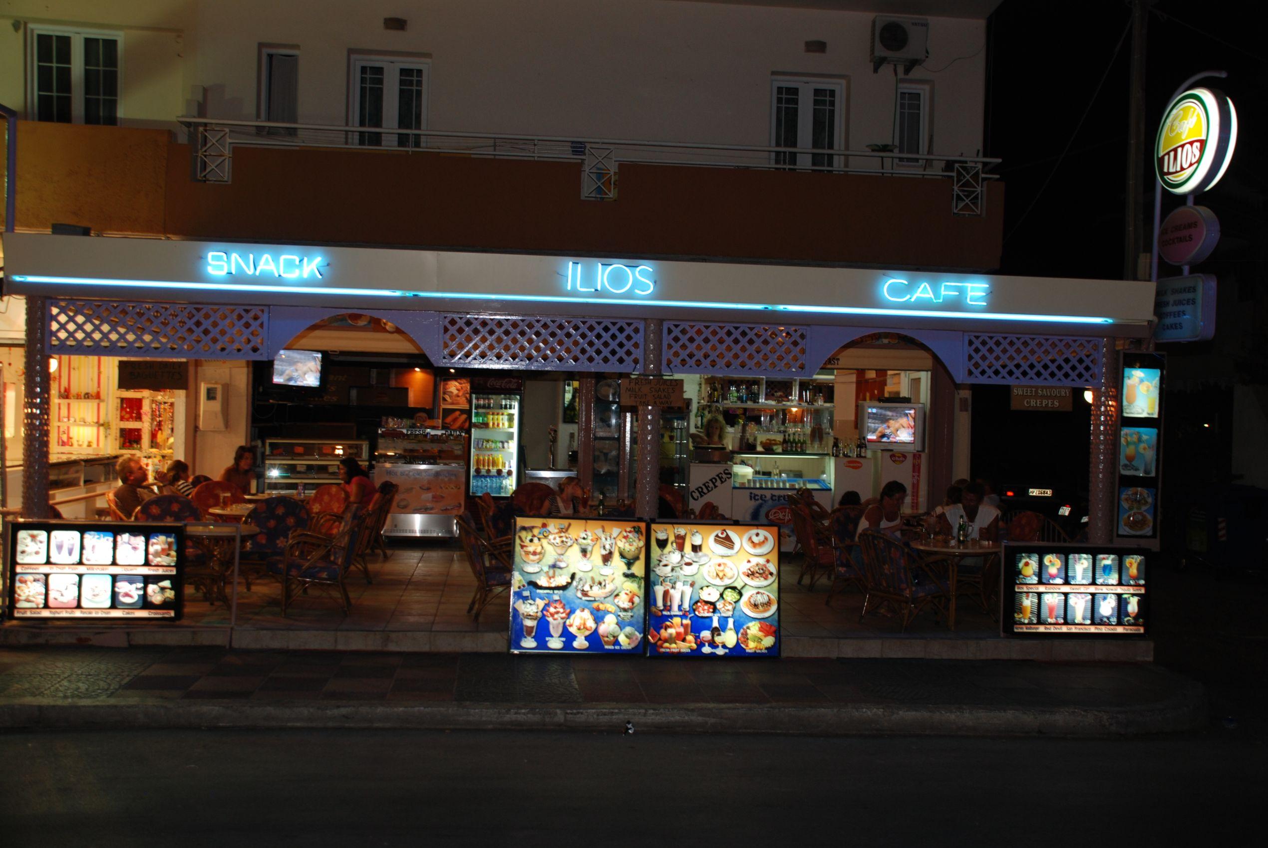 Ilios Cafe, Malia, Crete