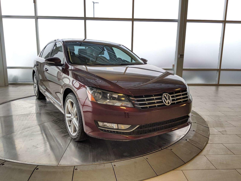 2012 Volkswagen Passat 3.6L DSG Highline for sale in Edmonton, Alberta
